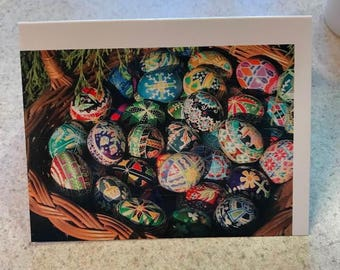 Pysanky Note Cards