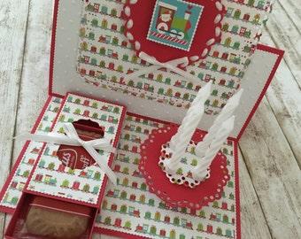 """Easel Card """"Christmas"""""""