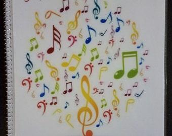 """8.5""""x11"""" Music Journal"""