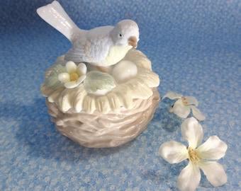 Bird Trinket Box