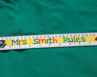 teachers gift ruler