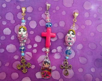 Charm to honor Erzulie Freda!