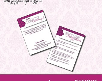 Seven Day Challenge Sample Cards - DIGITAL