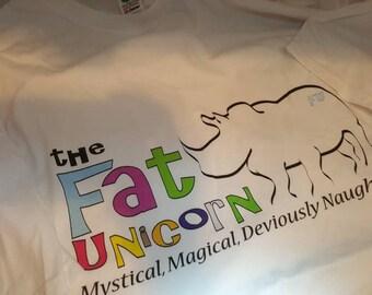 FAT UNICORN T-SHIRT