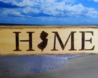 JERSEY HOME SIGN
