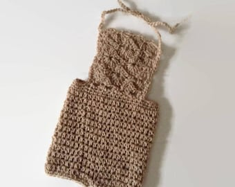 Newborn Crochet Overall Pattern, Newborn Pattern, Crochet Romper Pattern, Crochet Pattern, Crochet Prop Pattern, Newborn Prop Pattern
