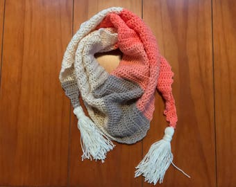 Strawberry Trifle Kerchief Scarf