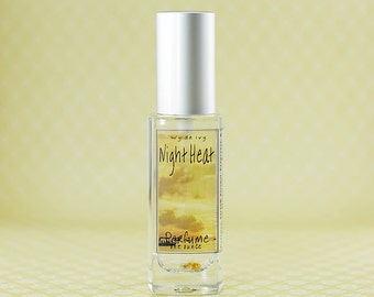 Night Heat Perfume Exotic Summer Inspired Fragrance with Notes of Amber Musk, Myrrh, Vanilla, Jasmine, Sandalwood, and Clove