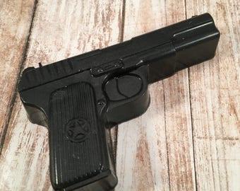 Gun Soap / Gun Soap Gift / Gift for Him / Police Gift / Gun Lover Gift / Hunter Gift / Military Gift / Father's Day