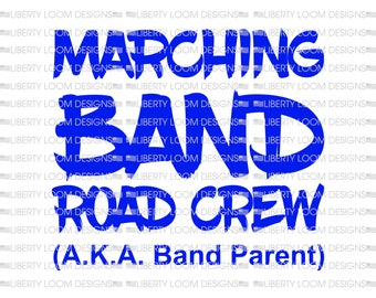Marching band Road Crew
