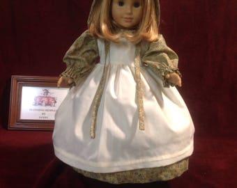 Prairie Style Doll Dress-18 Inch Dolls