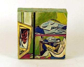 Pablo Picasso - A Muse, 1935  -  Original Art with Mixed Construction Technique.