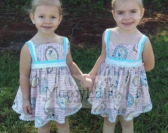 Princess Kate Top and Shorts or dress length option