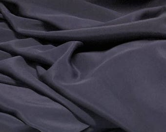 "100% Silk Light Crepe De Chine 44""w Navy Blue"