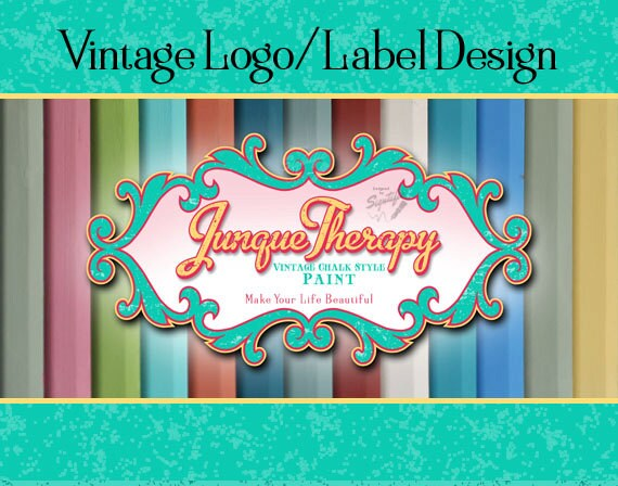 Vintage Label, Logo Design,  Business Sign Logo, Distressed Logo, Retro Logo, Stamp Logo Design, Wall Logo, T-shirt Logo, Colorful Logo
