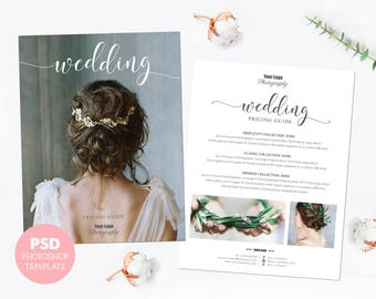 Wedding guide etsy wedding photography price list marketing advertising template pricing guide fully junglespirit Gallery