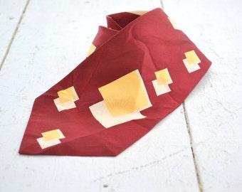 1940s Squares Necktie