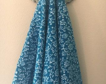 Swaddling Blanket - Floral Vines- X-Large - Ultra SOFT