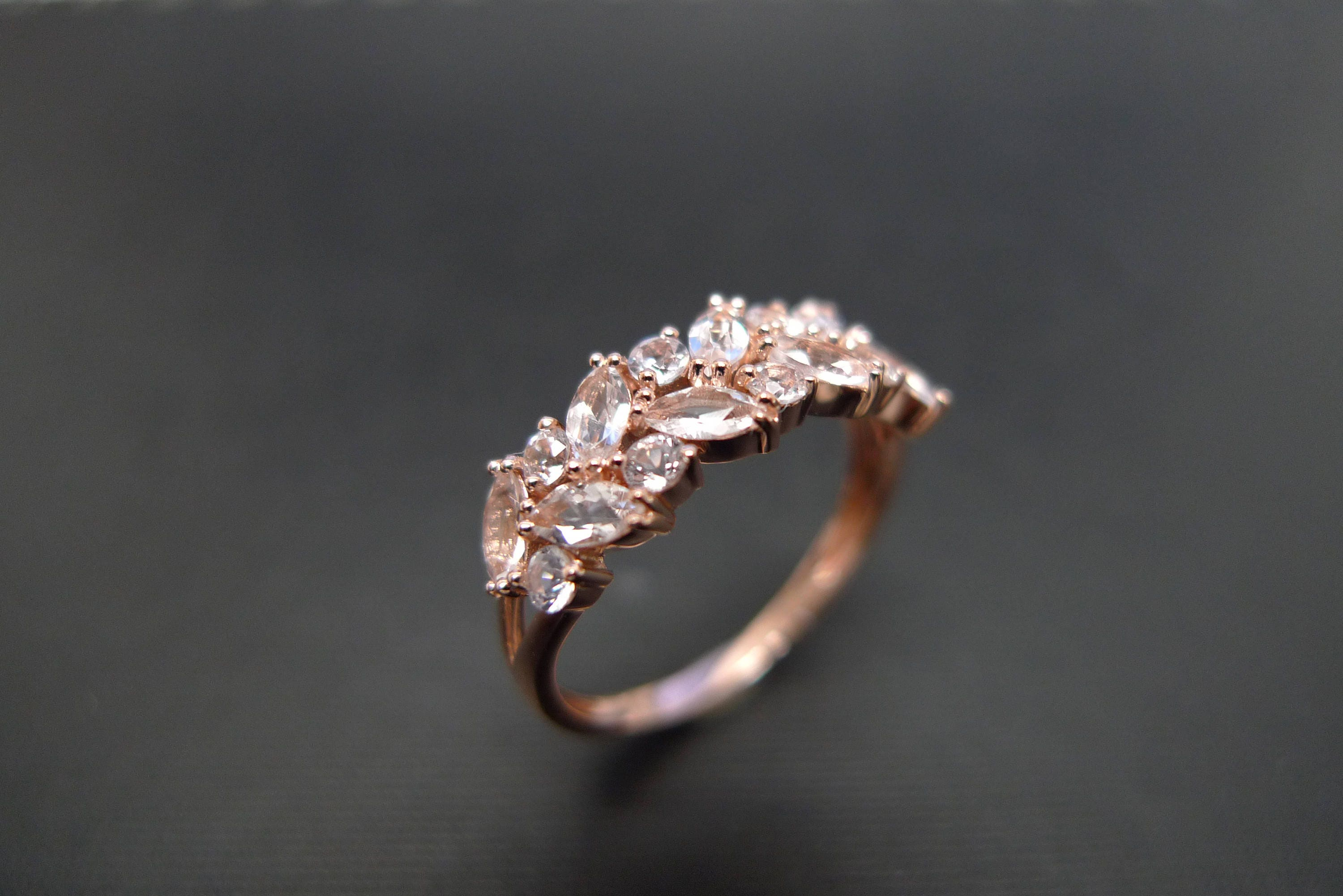 of princess featuring wrapped engagement a pin the love gold this look rings rose ring dainty wire cut