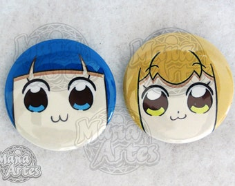 Pop Team Epic! Buttons (Pick your Buttons) 1.5""