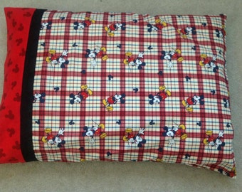Mickey Mouse Pillow Case- Standard Pillow