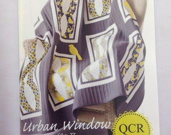 QCR Pattern- Urban Window Quilt Pattern