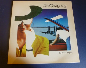 Bad Company Desolation Angels Swan Song SS 8506 1979
