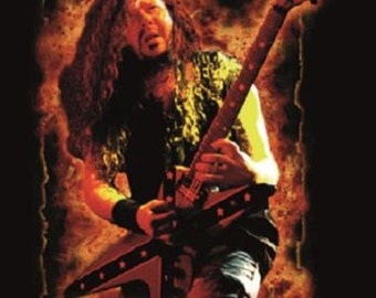 Pantera On Fire Official Cloth Textile Fabric Poster Flag Tapestry Wall Banner FREE SHIPPING-Dimebag Darrell-New!