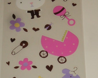 Scrapbooking Stickers Baby Book Gift Embellishments