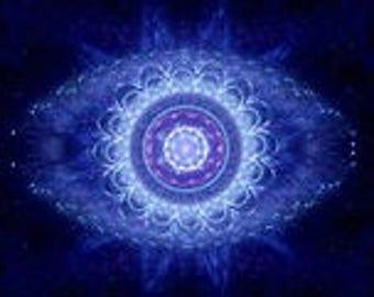 Third eye meditation pillow