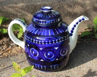 Gorgeous Vintage Arabia Finland Coffee Pot in Valencia pattern