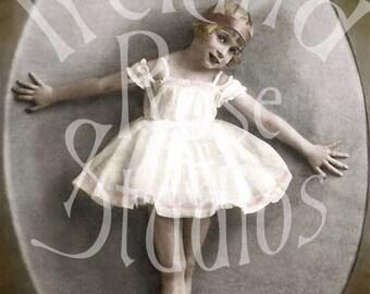 Franny Ballerina-Digital Image Download