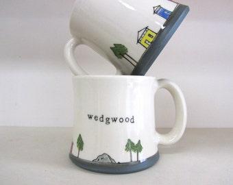 MADE TO ORDER ~ Wedgwood Mug