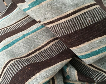 Vintage Woven Wool Native Textile Panel Rug or Upholstery