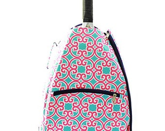 Personalized Tennis Bag, Tennis Back Pack, Monogrammed Tennis Bag, Monogrammed Tennis Book Bag, Tennis, Tennis Racket Bag, Sports Bag,