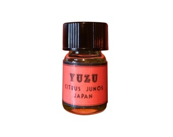 Yuzu Essential Oil, Citrus junos, Japan - 5/8 dram