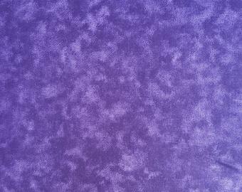 "Dark Purple Blender 108"" wide back 100% cotton fabric"
