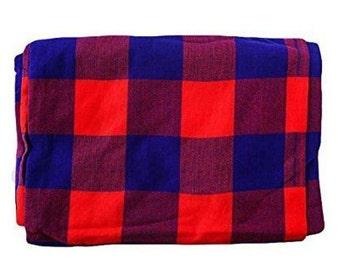 Maasai shuka, African Fabric, Safari fabric, traditional cloths, picnic blanket