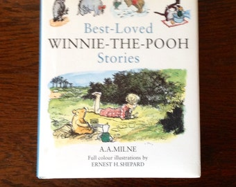 A vintage compilation of Best Loved Winnie the Pooh Stories by A.A. Milne beautifully illustrated by  Ernest H Shepard, Published by Dean