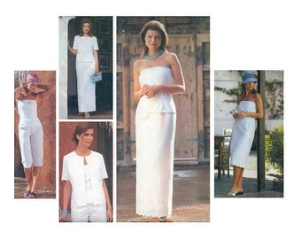 Vogue 2432 Size 12-14-16 Misses'Vogue Wardrobe, Dress, Top, Skirt, Shorts, Pants and Jacket, Sewing Pattern / UNCUT FF