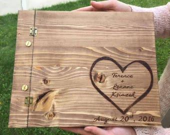 Custom Wedding Guest Book, Custom Wedding Gift, Personalized Wedding Guest Book, Personalized Wedding Gift