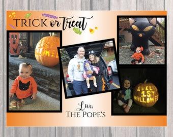 Happy Halloween Greeting - Trick or Treat!
