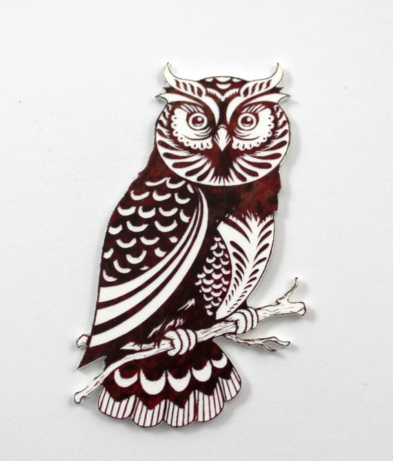 Laser Cut Supplies-1 Piece Wise Owl Charms-Acrylic and Wood Laser Cut-Jewelry Supplies-Little Laser Lab Wood and Acrylic Products