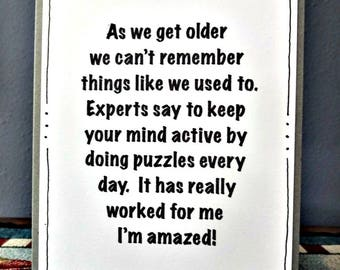 70th Birthday Card, Funny 60th 50th, Funny Card For Him For Her, Milestone Birthday, Old Age Card, Friendship Humor, Old People