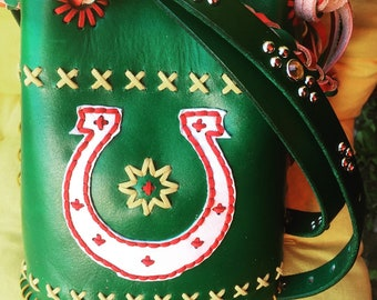 Set:bag and belt !!special price ! Mini bucket bag and studded belt !