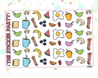 Breakfast & Brunch Planner Stickers