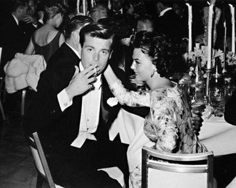 """Robert Wagner & Natalie Wood Limited Edition 16"""" x 20"""" Silver Gelatin Photograph (b) by Frank Worth"""