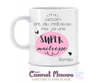"""Mug gift teacher """"some have mistresses"""" end of year gift"""