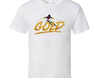 Frida Hansdotter Sweden Alpine Skiing 2018 Olympic Gold Athlete Fan T Shirt