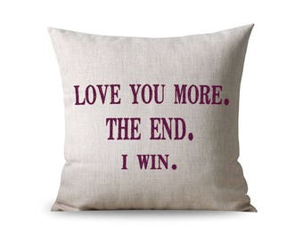 Customized Quote Pillow, Housewarming gift, Couples Gift, Anniversary Gift, Custom Pillow, Personalized Pillow Gift, Personalized Pillows